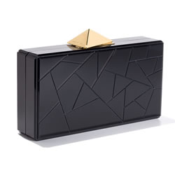 BLACKSEA Fragments Clutch Black
