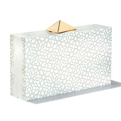 BLACKSEA Medina Clutch White